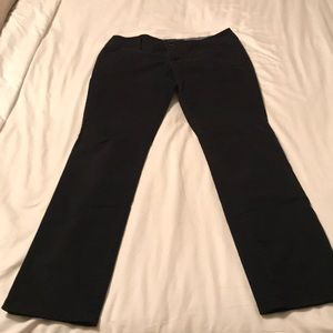Black casual pants